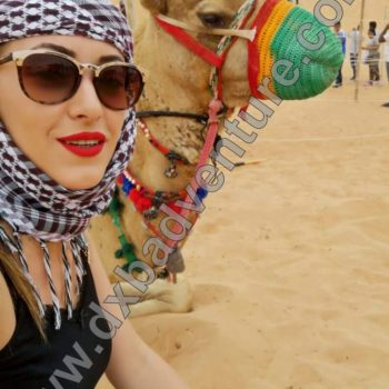 girl with camel